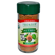 Frontier Natural Products, Organic, Nutmeg, Ground, 1.90 oz (53 g)