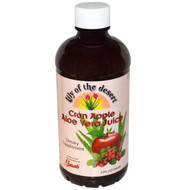 Lily of the Desert, Cran Apple Aloe Vera Juice, 32 fl oz (946 ml)
