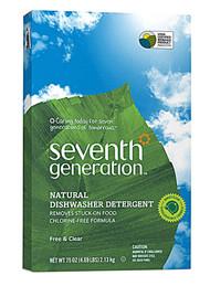 Seventh Generation Automatic Dishwashing Detergent Free & Clear - 75 oz