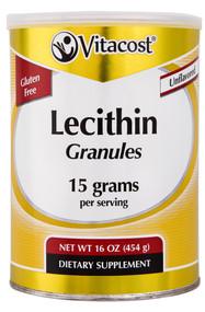 Vitaco, Lecithin Granules,  Unflavored - 15 grams per serving - 16 oz