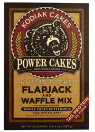3 PACK of Kodiak Cakes Baker Mills Power Cakes Flapjack and Waffle Mix Wholegrain Buttermilk -- 20 oz