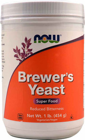 Now Foods, Brewers Yeast, Super Food, 1 lb (454 g)