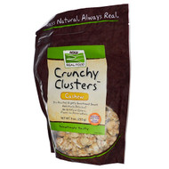Now Foods, Real Food, Crunchy Clusters, Cashew, 9 oz (255 g)