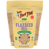 3 PACK OF Bobs Red Mill, Organic Whole Ground Flaxseed Meal, 32 oz (907 g)