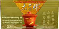 Prince of Peace Instant Wild American Ginsent Tea - 20 Bags