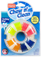 Hartz-Chew-N-Clean-Dog-Teething-Ring