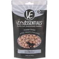 3 PACK OF Vital Essentials, Freeze-Dried Vital Treats For Dogs, Rabbit Bites, 2.0 oz (56.7 g)