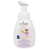 3 PACK OF ATTITUDE, Sensitive Skin Care, Baby, Natural Baby Bottle & Dishwashing Foam, 9.9 fl oz (295 ml)