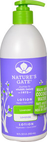 Natures Gate Wholistic Beauty Body Lotion Lavender - 18 fl oz
