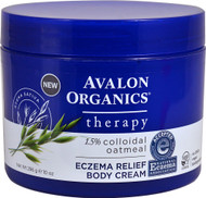 Avalon Organics Therapy Eczema Relief Body Cream - 10 oz