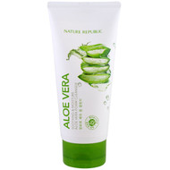 3 PACK OF Nature Republic, Aloe Vera, Soothing & Moisture Aloe Vera Foam Cleanser, 5.07 fl oz (150 ml)