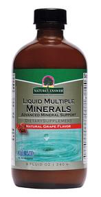Natures Answer Liquid Multiple Minerals Natural Grape - 8 fl oz