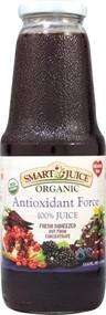 Smart Juice, Organic Antioxidant Force 100% Juice - 33.8 fl oz