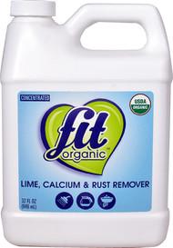 Fit Organic Lime Calcium & Rust Remover - 32 fl oz