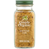 3 PACK OF Simply Organic, Organic, Nutritional Yeast, 1.32 oz (37 g)