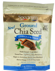Spectrum, Essentials Ground Chia Seed OMEGA-3 & FIBER - 10 oz