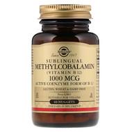 3 PACK OF Solgar, Sublingual Methylcobalamin (Vitamin B12), 1000 mcg, 60 Nuggets