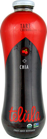 Telula Organic Fruit Juice  Tart Cherry and Chia - 32 fl oz