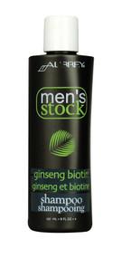 Aubrey, Mens Stock Ginseng Biotin Shampoo - 8 fl oz