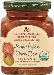 Stonewall Kitchen Organic Gourmet Jam  Maple Apple Onion - 9 oz