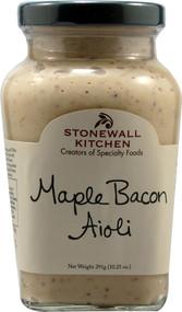 Stonewall Kitchen, All Natural Aioli,  Maple Bacon - 10.25 oz