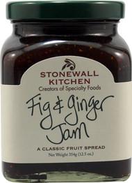 Stonewall Kitchen, Jam,  Fig & Ginger - 12.5 oz