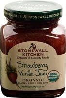 Stonewall Kitchen Organic Gourmet Jam  Strawberry Vanilla - 8.25 oz