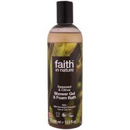 3 PACK OF Faith in Nature, Shower Gel & Foam Bath, Seaweed & Citrus, 13.5 fl oz (400 ml)