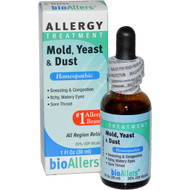 BioAllers Allergy Treatment Mold Yeast and Dust - 1 fl oz