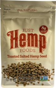 Just Hemp Foods Toasted Salted Hemp Seed - 8 oz