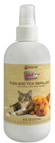 3 PACK of Vitaco - Tag Flea and Tick Repellent for Dogs, Cats and Horses -- 8 fl oz (237 mL)