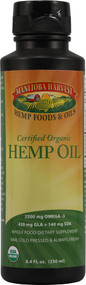 Manitoba Harvest, Organic Hemp Oil - 8 fl oz