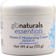 Glonaturals Essentials Collection Vitamin E Moisturizing Cream 25,000 IU - 4 oz