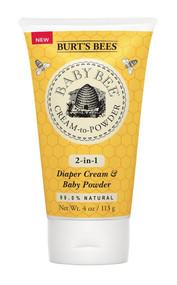 Burts Bees, Baby Bee Diaper Cream & Baby Powder - 4 fl oz