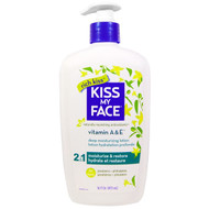3 PACK OF Kiss My Face, Rich Kiss, 2 In 1 Deep Moisturizing Lotion, Vitamin A & E, 16 fl oz (473 ml)