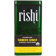 Rishi Tea, Turmeric Ginger, Organic Loose Leaf Herbal Tea, Ayurvedic + Meyer Lemon, 2.47 oz (70 g)