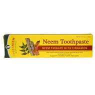 3 PACK of Organix South, TheraNeem Naturals, Neem Therap? with Cinnamon, Neem Toothpaste, 4.23 oz (120 g)