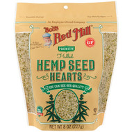 3 PACK OF Bobs Red Mill, Hulled Hemp Seed Hearts, 8 oz (227 g)