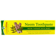 3 PACK of Organix South, TheraNeem Naturals, Neem Therap? with Mint, Neem Toothpaste, 4.23 oz (120 g)