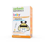 Zarbees, Baby, Immune Support + Vitamins, Natural Orange Flavor, 2 fl oz