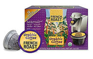 The Organic Coffee Co, K-Cups,  French Roast - 12 K-Cups