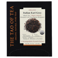 The Tao of Tea, Organic Italian Earl Grey, 15 Pyramid Sachets, 1.32 oz (37.5 g)