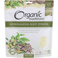 3 PACK of Organic Traditions, Ashwagandha Root Powder, 7 oz (200 g)