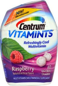 Centrum VitaMints Adult Multivitamin  Raspberry - 60 Chewables