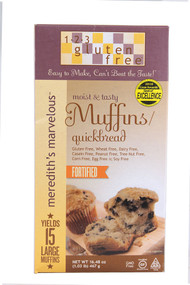 123 Gluten Free, Merediths Marvelous Moist and Tasty Muffins & Quickbread - 16.48 oz