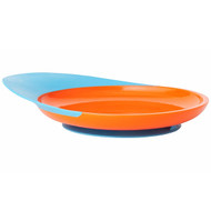 3 PACK OF Boon, Catch Plate, Toddler Plate with Spill Catcher, 9 + Months, Orange/Blue, 1 Plate