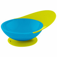 3 PACK OF Boon, Catch Bowl, Toddler Bowl with Spill Catcher, 9 + Months, Blue/Green, 1 Bowl