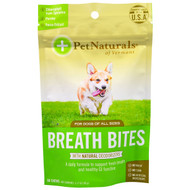 3 PACK OF Pet Naturals of Vermont, Breath Bites, For Dogs, 60 Chews, 3.17 oz (90 g)