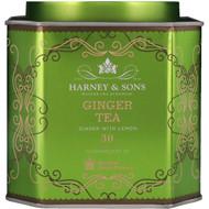 3 PACK OF Harney & Sons, Ginger Tea, Ginger with Lemon, 30 Sachets, 2.67 oz (75 g) Each