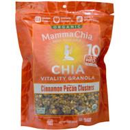 Mamma Chia, Organic Chia Vitality Granola, Cinnamon Pecan Clusters, 9 oz (255 g)